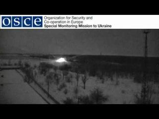 OSCE SMM camera at the Donetsk Filtration Station