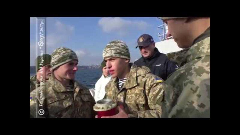Клятва морського піхотинця курсантів Військової академії