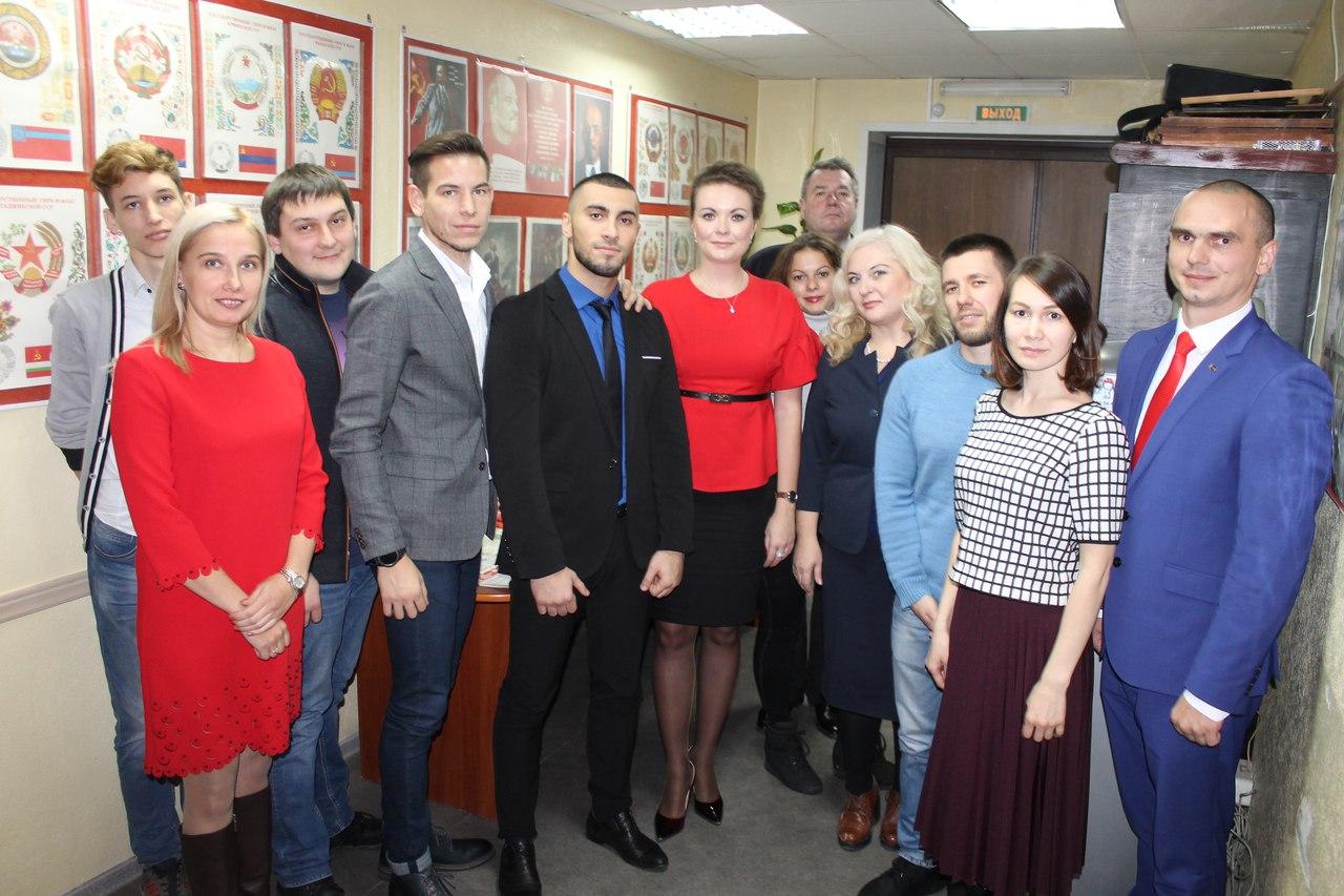 В Ноябрьске состоялась III окружная отчётная конференция Ленинского Коммунистического Союза Молодёжи