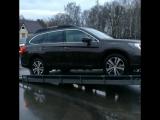 Тест системы X-Mode на Subaru Outback
