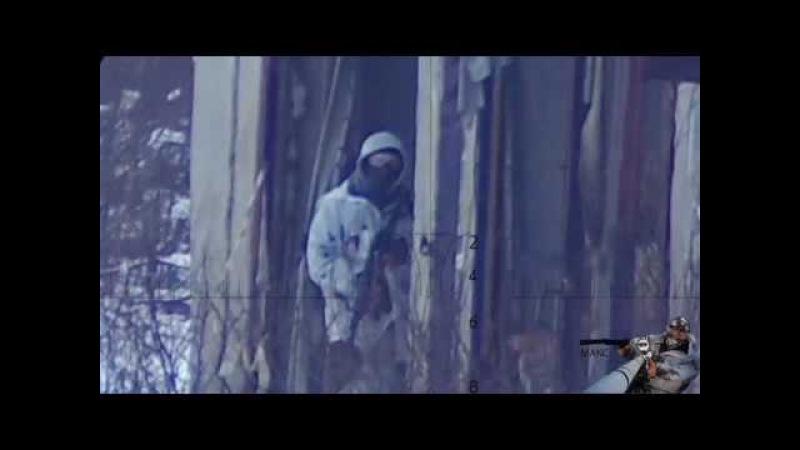 ICESNIPE DEV Тренировка 18 02 2018 Росляково снайпер в страйкболе