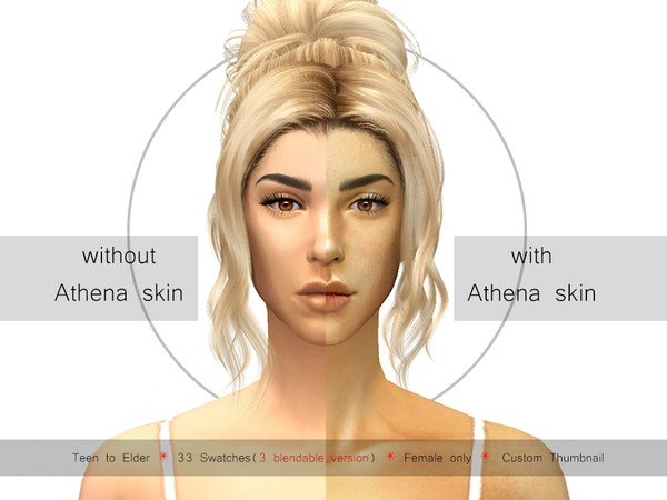 Athena skin by Urielbeaupre