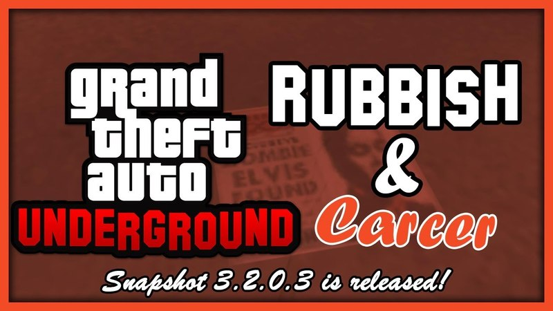 GTA Underground Carcer City Props Rubbish