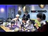 131031 Taemin is choking on wasabi riceball