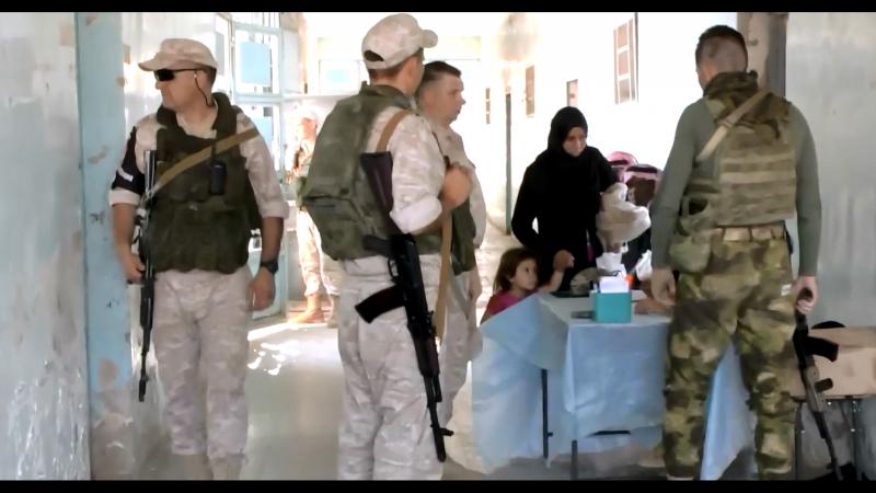 Армия России в Сирии- Медицинский отряд специального назначения