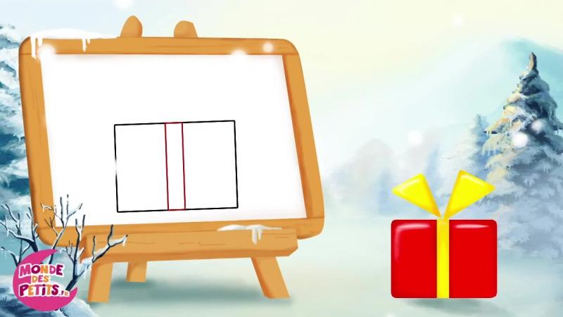 8. Comment dessiner les objets de Noël