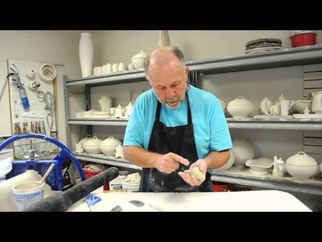 Handbuilding Spouts with Stan Irvin Part 1