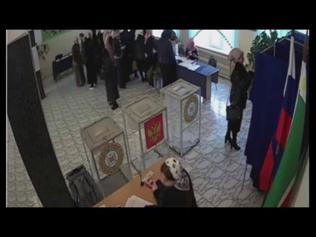 Организованная группа на УИК-93 (Чечня), нарушения на выборах 2018