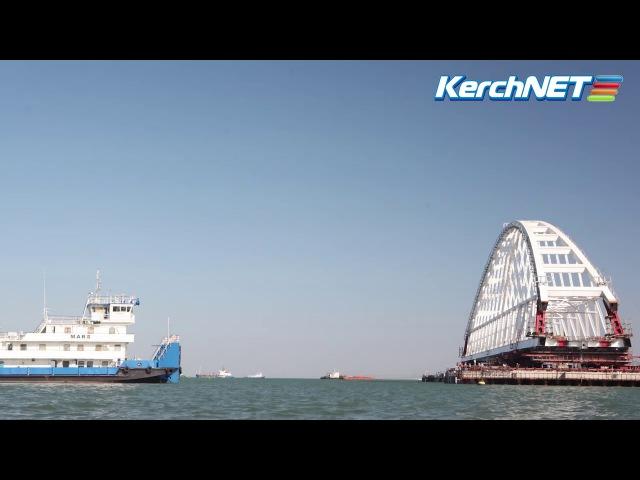 Морская операция в Керченском проливе: таймлапс