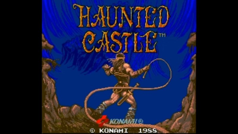 Haunted Castle (Castlevania). Arcade. No Damage Walkthrough (1 Coin)