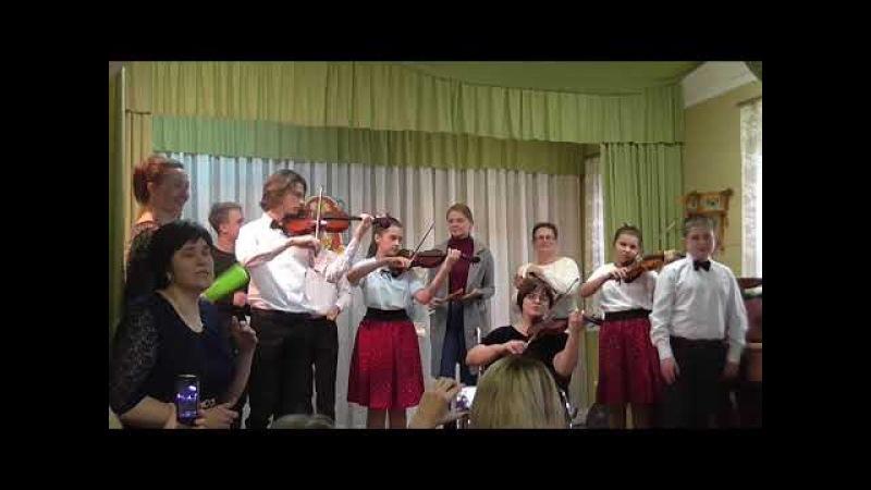 Ковбойский оркестр проездом в Литературном салоне города Вязьмы Шутка