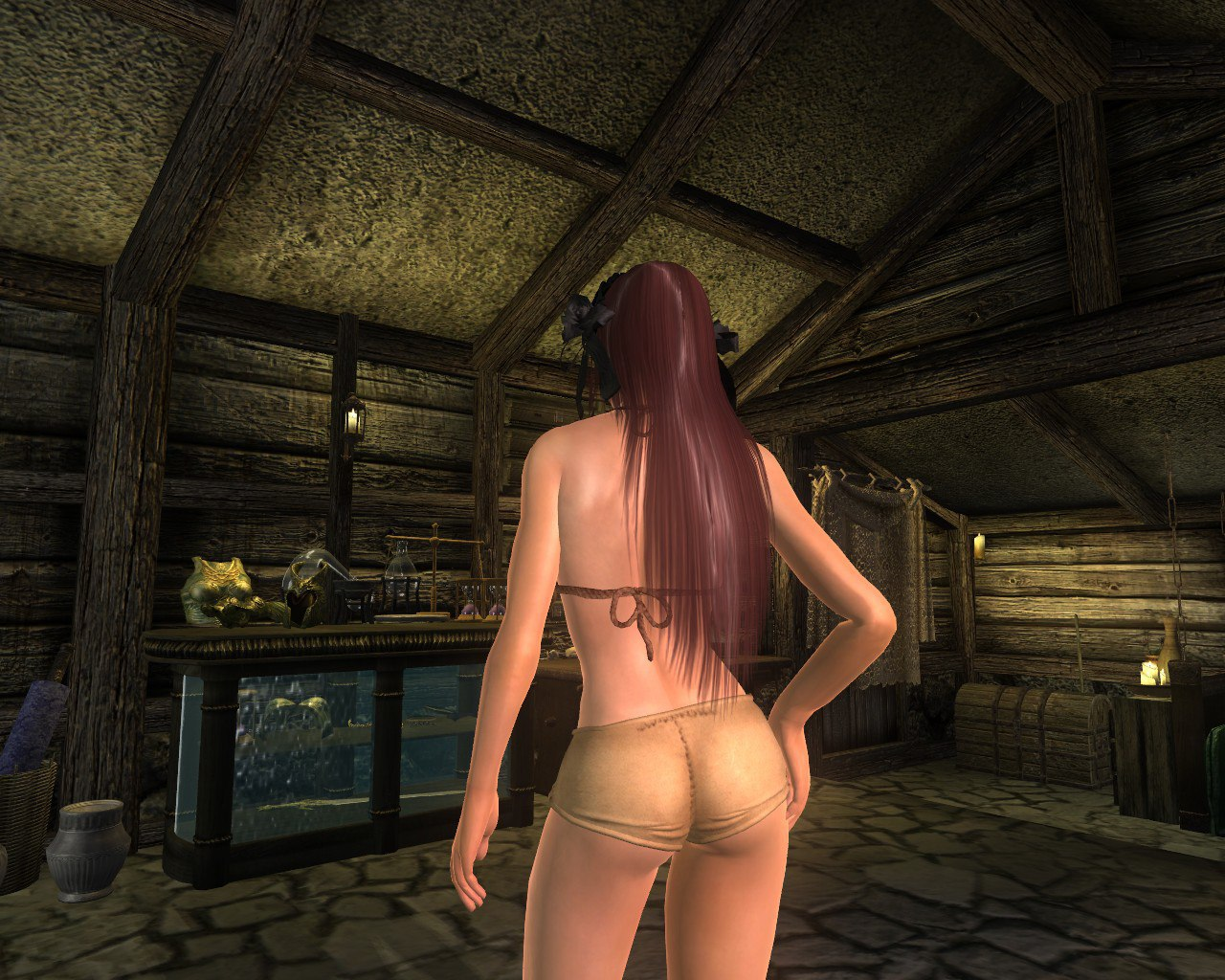 Naked public oblivion fat mod pornstar