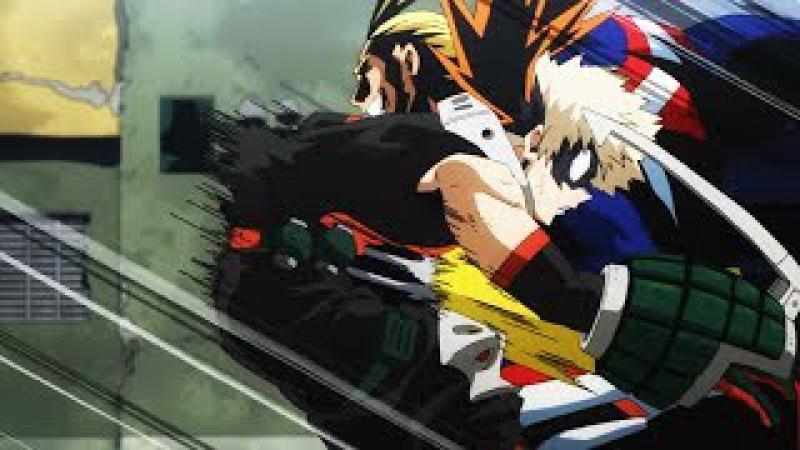 All Might VS Midoriya and Bakugou [Full Fight] Boku No Hero Academia Season 2 - AMV