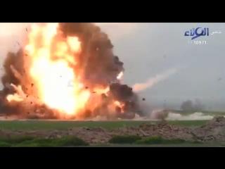 Ирак.2017.Отражение атаки смертников ИГ шиитским ополчением