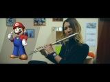 Super mario bros on flute - Marina Panina