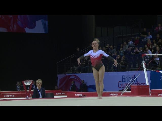Amy Tinkler - GOLD - Floor - 2018 British Gymnastics Championship - WAG Senior Apparatus Final