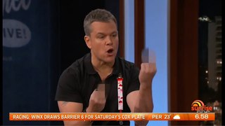 George Clooney And Matt Damon Team Up To Get Revenge On Jimmy Kimmel - The