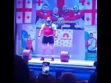Lasha Talahadze 254kg Clean and Jerk