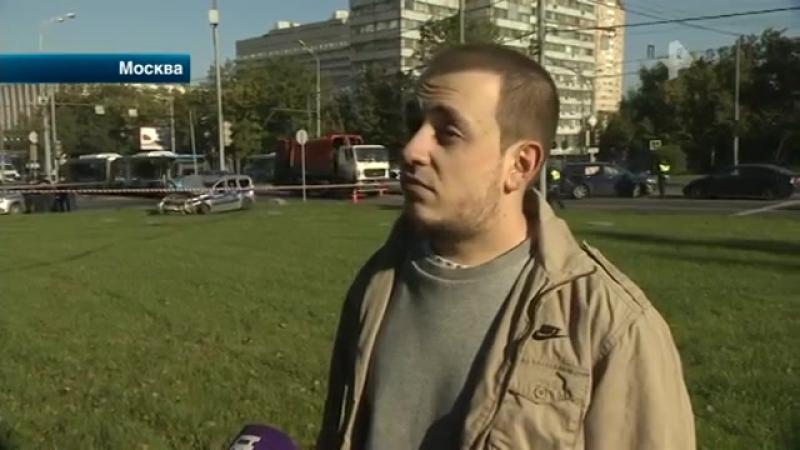 РЕН ТВ. Новости - Авария с участием полицейских произошла в Москве
