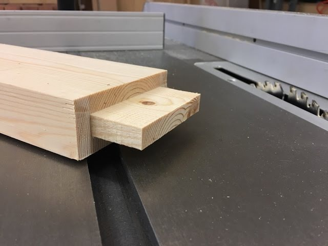 Mortise and tenon!