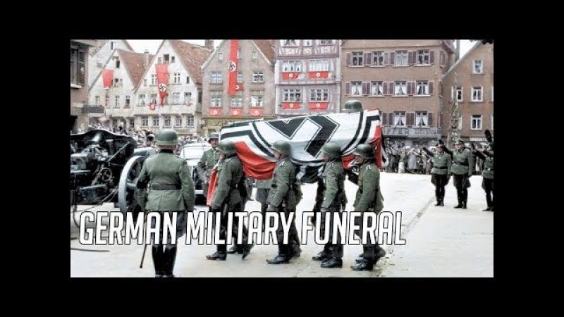 German Military Funeral Ich Hatt' Einen Kamarden HD Colour