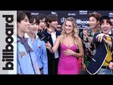 BTS Talks Love of Latin Pop and Show Off BBMA Victory Dance BBMAs 2018