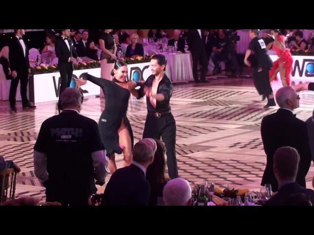 Austin Joson Nino Dzneladze Samba Kremlin Cup Amateur Latin