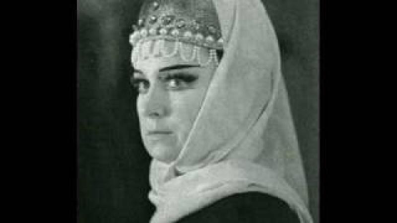Tamara Milashkina - P. I. Tchaikovski - Ya li v pole da ne travuska byla