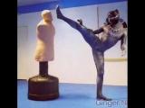 Тренировка черной пантеры