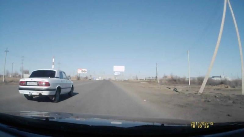 Авария на ул Автозаправочная Астрахань