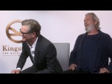 Colin Firth and Jeff Bridges talk KINGSMAN THE GOLDEN CIRCLE