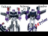 Octane Transformers Takara Legends vs Hasbro Titans Return