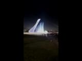 олимпийский парк в Адлере-Сочи. Фонтан