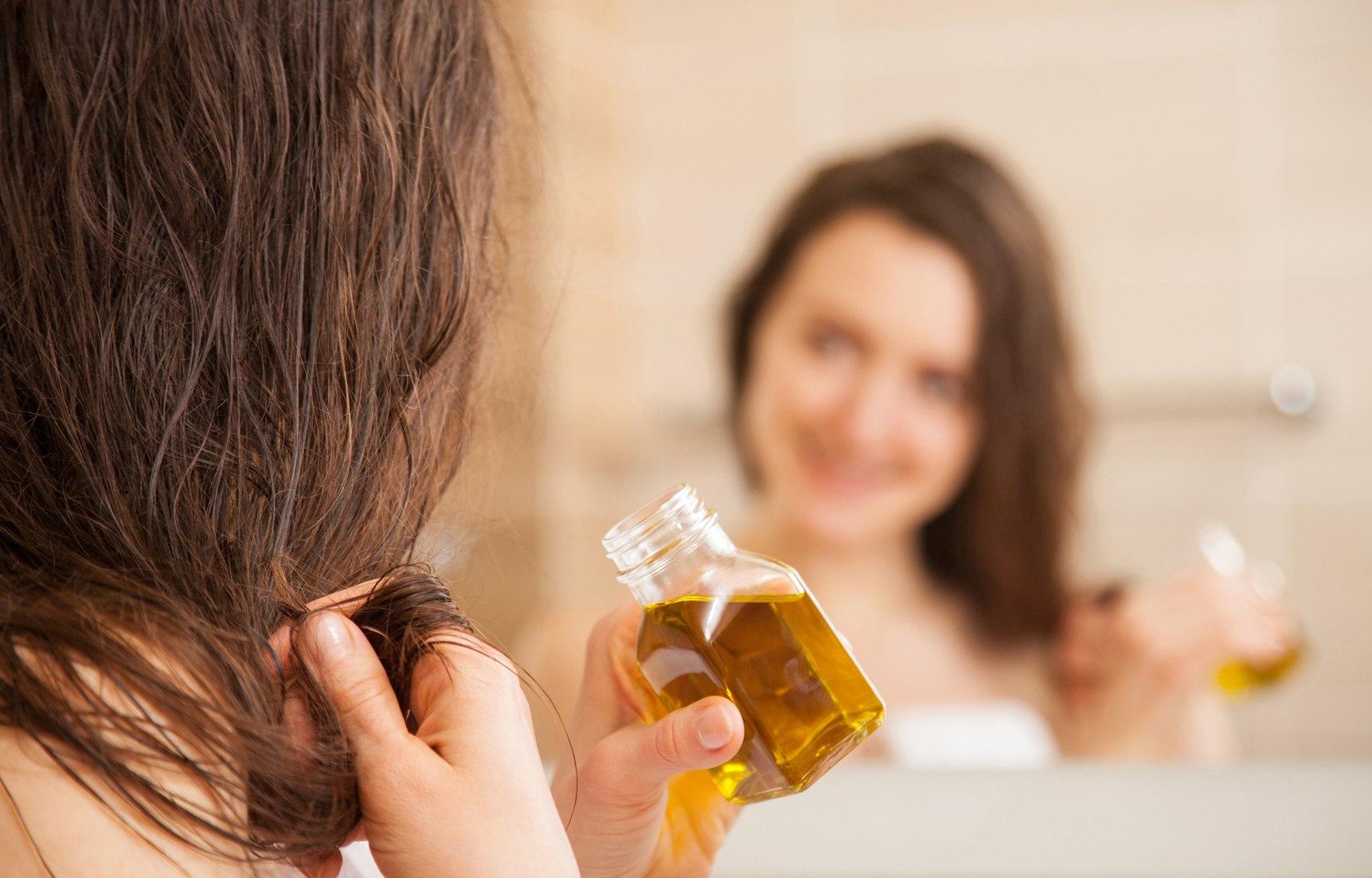 Здоровые волосы благодаря льняному маслу