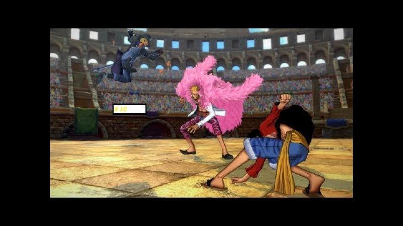Прохождение One Piece Burning Blood 10 *Луччи и Тесоро* 16