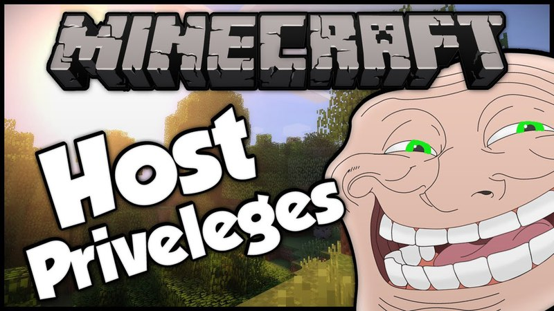 Minecraft: Trolling A Weird 9 Year Old 5! (Host Privilege Troll)