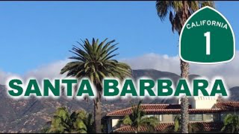 Санта-Барбара Пляж - Santa Barbara Beach - Trip thru California
