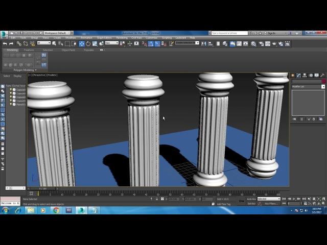 Моделирование классической колонны - 7