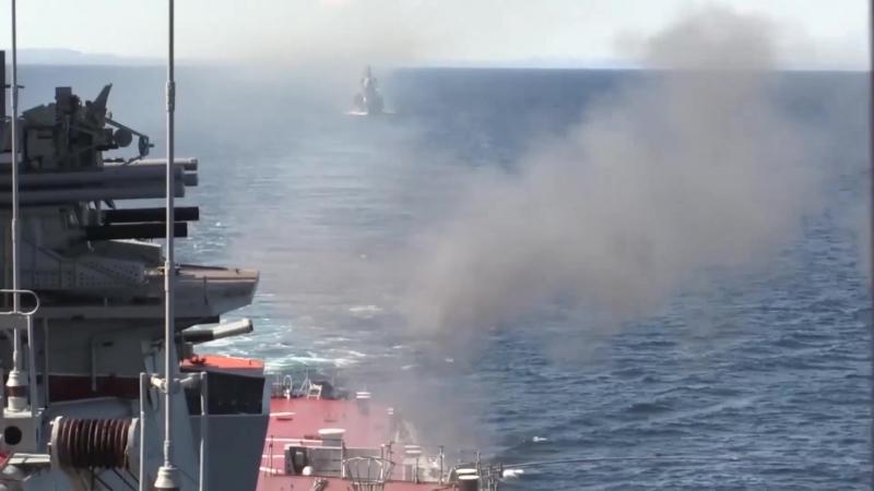 Комплекс артиллерийских стрельб тяжелого атомного ракетного крейсера Пётр Великий