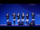 180223 여자친구 (GFRIEND) FINGERTIP(핑거팁) [전체] 직캠 Fancam (평창 동계올림픽 헤드라이너쇼 ) by Mera