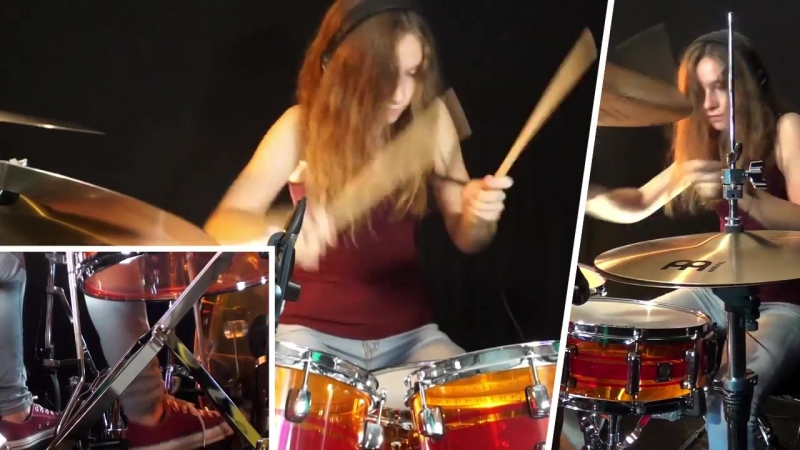 Black Betty (Ram Jam); drum cover by Sina.mp4