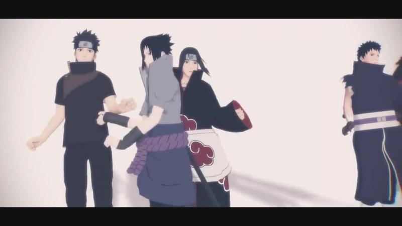 Uchiha Dance (Shisui,Madara,Itachi,Obito,Sasuke)