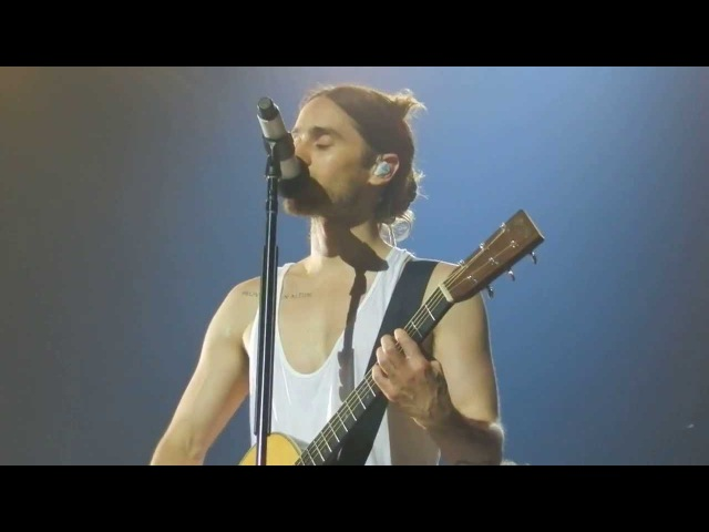 Capricorn Echelon acoustic HD 30 Seconds to Mars 18/02 Paris -front row- White Night Color War