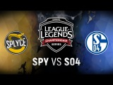 S04 vs. SPY - Week 2 Day 2 EU LCS Spring Split FC Schalke 04 vs. Splyce (2018)