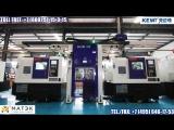 TH62-300-DOUBLE-суперточный ультраскоростной роботизированный производственный комплекс из двух станков с роботом KEMT