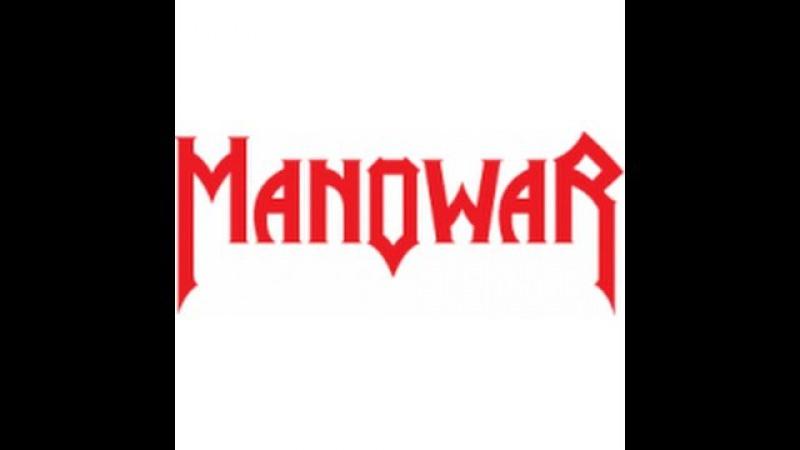 Manowar The Gods Made Heavy Metal Lyrics on screen