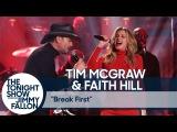 Tim McGraw &amp Faith Hill Break First