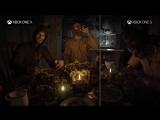 Сравнение Resident Evil 7 на Xbox One X и Xbox One S.