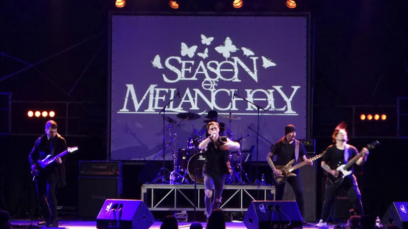 Season Of Melancholy - Red Line Delusion (Live at Bingo club, Kiev, 16.03.2018)