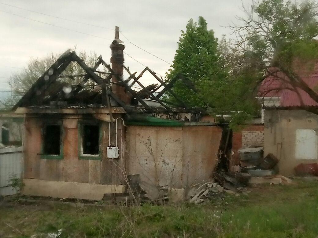 Один человек погиб при пожаре в Зеленчукской